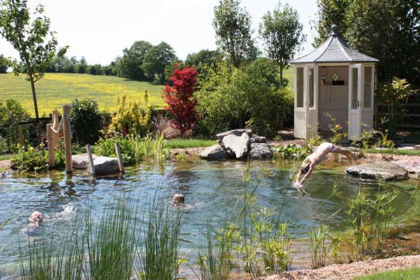 Vijver aanleggen een toevoeging aan elke tuin