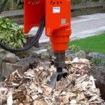 verwijderen van een boomstronk