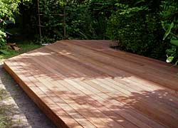 Houten terras aanleggen hovenier gigant - Terras hout picture ...