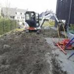 tuin afgraven kosten